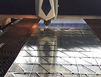 金属激光切割不锈钢